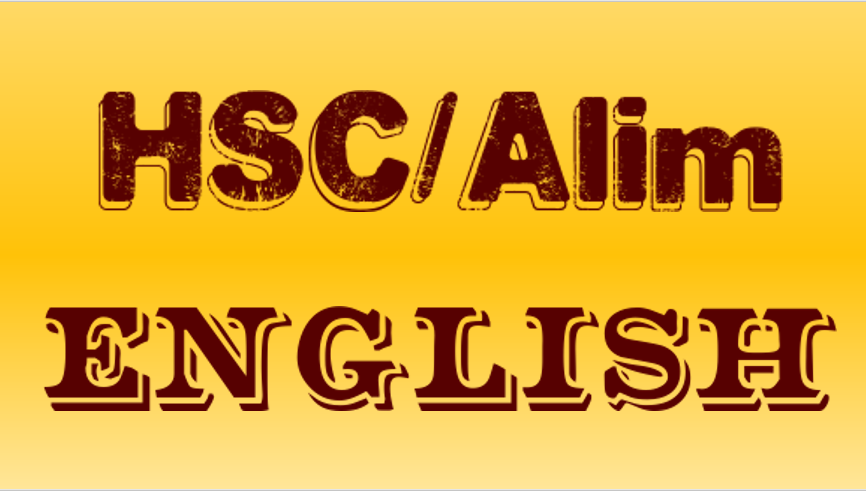 HSC and Alim English