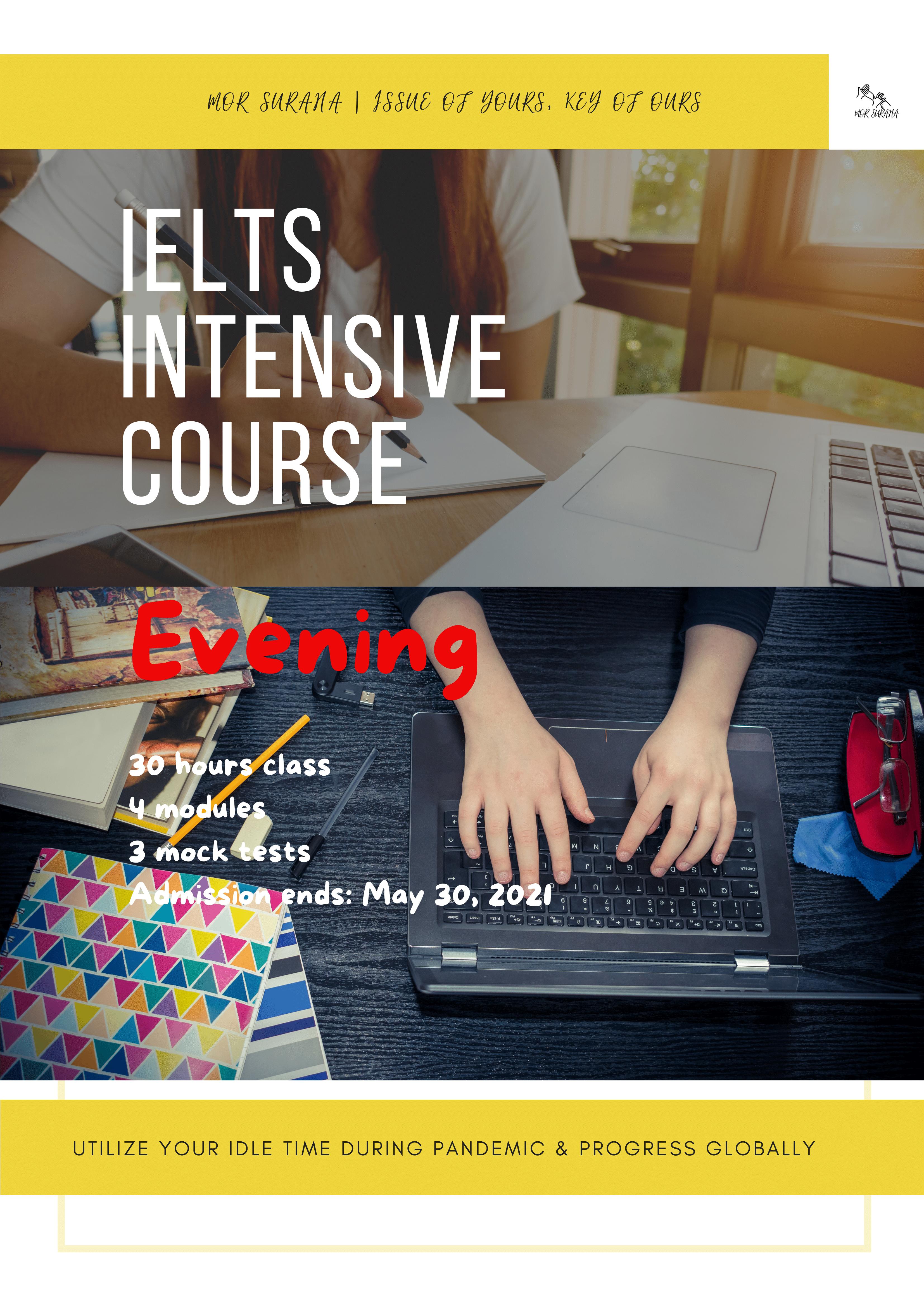 IELTS Intensive Course